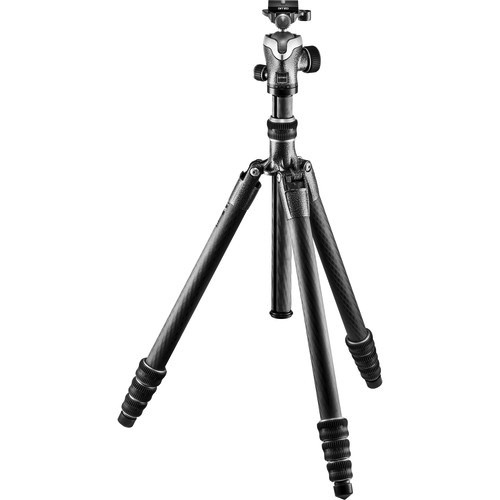 Gitzo Series 2 Traveler Carbon Fiber Tripod with Center Ball Head - B&C Camera - 3
