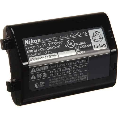 Nikon EN-EL4a Lithium Ion Battery - B&C Camera