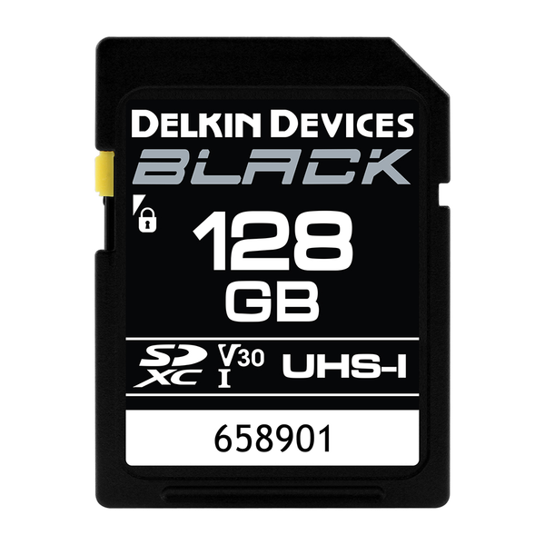 Delkin Black Rugged SD Card - 128 GB