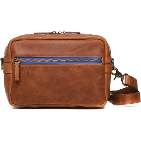 ONA The Crosby Leather Camera Bag (Antique Cognac) B by ONA BAGS at bandccamera