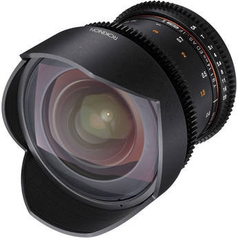 Rokinon 14mm T3.1 Cine DS Lens - Sony E Mount by Rokinon at bandccamera
