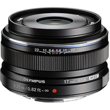Olympus M.Zuiko Digital 17mm f/1.8 Lens (Black) - B&C Camera