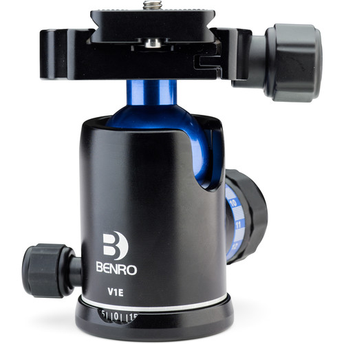 Benro V1E Triple Action Ball Head - B&C Camera