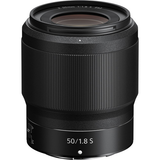 Nikon NIKKOR Z 50mm f/1.8 S Lens by Nikon at B&C Camera