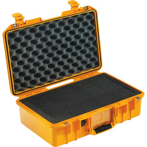Pelican 1485Air Compact Hand-Carry Case (Yellow, Pick-N-Pluck Foam) by Pelican at bandccamera