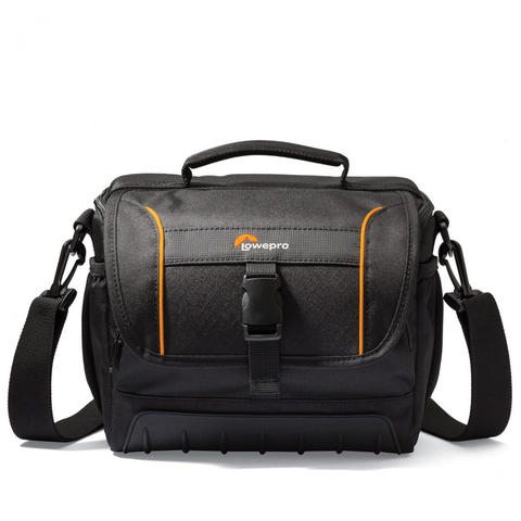 Lowepro Adventura SH 160 II Shoulder Bag (Black) by Lowepro at B&C Camera