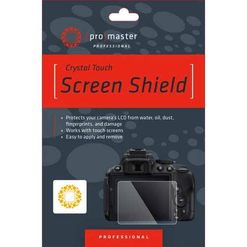 "Promaster Crystal Touch Screen Shield for 3.2"" 16:9 LCD - B&C Camera"
