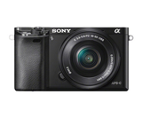 Sony Alpha a6000 Mirrorless Digital Camera with 16-50mm Lens (Black) by Sony at B&C Camera
