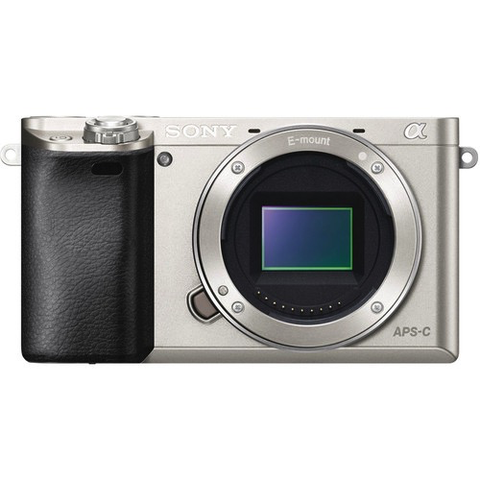Sony Alpha a6000 Mirrorless Digital Camera Body (Silver) by Sony at bandccamera