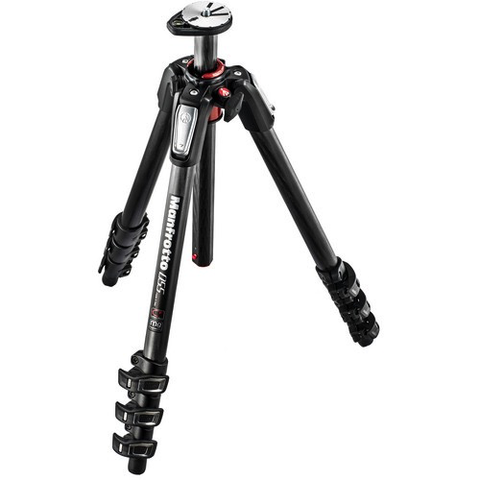 Manfrotto MT055CXPRO4 Carbon Fiber Tripod by Manfrotto at B&C Camera