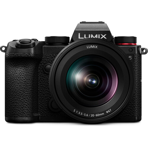 Panasonic LUMIX DC-S5 Mirrorless Digital Camera with S 20-60mm f/3.5-5.6 Lens