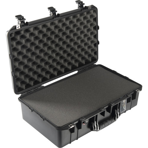 Pelican 1555Air Carry-On Case with Foam (Black)