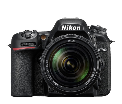 Nikon D7500 DSLR Camera with 18-140mm VR Lens by Nikon at B&C Camera