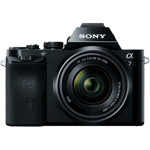 Sony Alpha a7 Mirrorless Digital Camera with FE 28-70mm f/3.5-5.6 OSS Lens by Sony at B&C Camera