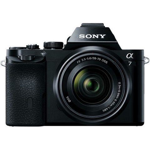 Sony Alpha a7 Mirrorless Digital Camera with FE 28-70mm f/3.5-5.6 OSS Lens by Sony at bandccamera