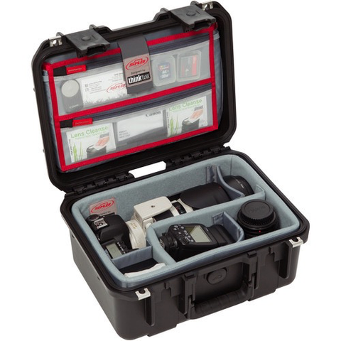 SKB iSeries 1309-6 Case with Think Tank-Designed Photo Dividers & Lid Organizer (Black) by SKB at bandccamera