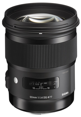 Sigma 50mm F1.4 DG HSM Art Lens for Canon by Sigma at bandccamera