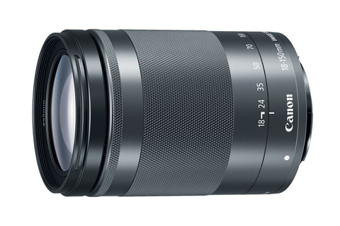 Canon EF-M 18-150mm f/3.5-6.3 IS STM Lens Graphite by Canon at B&C Camera