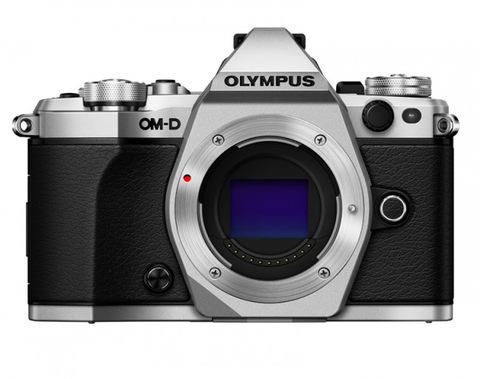 Olympus OM-D E-M5 Mark II Mirrorless Micro Four Thirds Digital Camera Body (Silver) by Olympus at B&C Camera