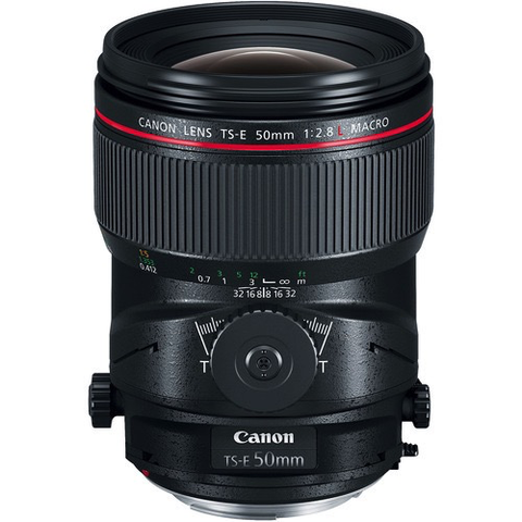 Canon TS-E 50mm f/2.8L Macro Tilt-Shift Lens by Canon at B&C Camera