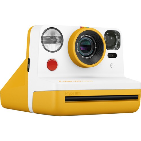 Polaroid Now Instant Film Camera (Yellow)