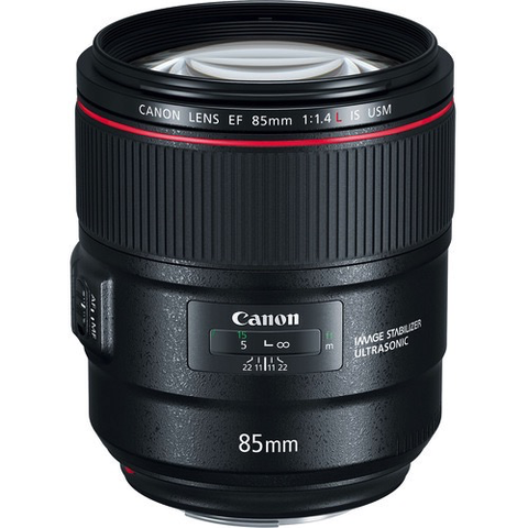 Canon EF 85mm f/1.4L IS USM Lens by Canon at B&C Camera