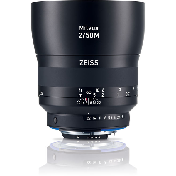 Zeiss Milvus 50mm f/2M ZF.2 Lens for Nikon F Mount - B&C Camera
