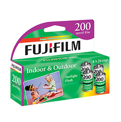 Fujifilm Fujicolor 200 Color Negative Film (4 Pack) - B&C Camera