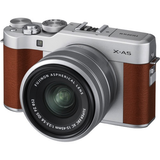 FujiFilm X-A5 with XC15-45mm Lens Kit Brown by Fujifilm at bandccamera