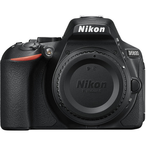 Nikon D5600 DX-format Digital SLR Body (Black) by Nikon at B&C Camera