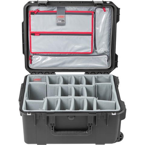 SKB iSeries 2015-10 Case with Think Tank Photo Dividers & Lid Organizer (Black) by SKB at B&C Camera