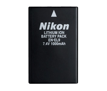 Nikon EN-EL9 Lithium Ion Battery by Nikon at bandccamera