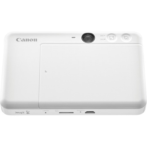 Canon IVY CLIQ+ Instant Camera Printer (Pearl White)