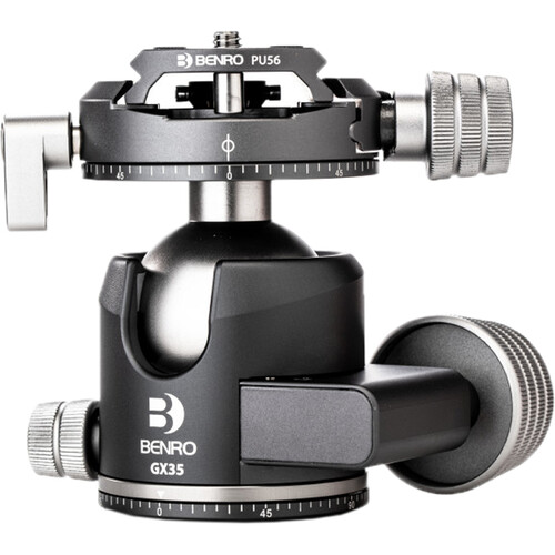 Benro GX35 Two Series Arca-Type Low Profile Aluminum Ball Head
