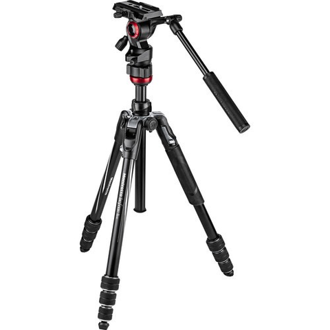Manfrotto Befree Live Video Tripod Kit with Twist Leg Locks by Manfrotto at B&C Camera