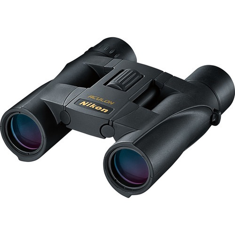 Nikon 10x25 Aculon A30 Binoculars (Black) by Nikon at bandccamera
