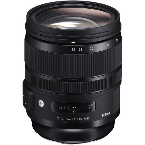 Sigma 24-70mm f/2.8 DG OS HSM Art Lens for Nikon F