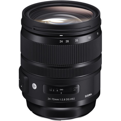 Sigma 24-70mm f/2.8 DG OS HSM Art Lens for Nikon F by Sigma at B&C Camera