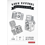 Lomography Temporary Tattoos (5 Pack, Various Designs) - B&C Camera - 5