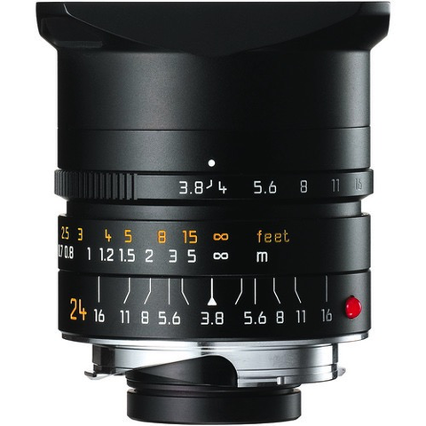 Leica Elmar-M 24mm f/3.8 ASPH. Lens by Leica at bandccamera