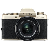 Fujifilm X-T100 w/XC15-45mm Kit Champagne Gold