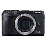 Canon EOS M6 Mark II Mirrorless Digital Camera (Black, Body Only)