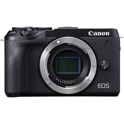 Canon EOS M6 Mark II Mirrorless Digital Camera (Black, Body Only) by Canon at B&C Camera