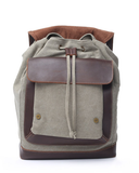 Kelly Moore Bag - Pilot - Moss Green/Brown Canvas Backpack - B&C Camera - 2
