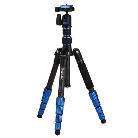 Benro 5-Section Carbon Fiber Slim Travel Tripod Kit