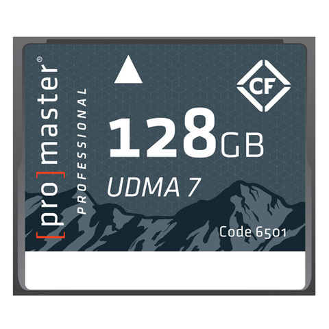 Promaster 128GB Professional Rugged Compact Flash Memory Card by Promaster at B&C Camera