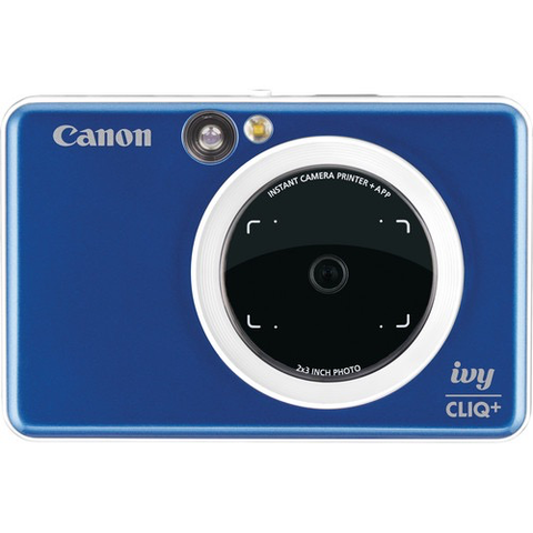 Canon IVY CLIQ+ Instant Camera Printer (Sapphire Blue) by Canon at B&C Camera