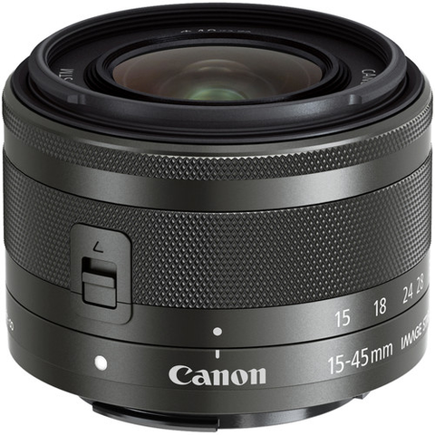 Canon EF-M 15-45mm f/3.5-6.3 IS STM by Canon at bandccamera