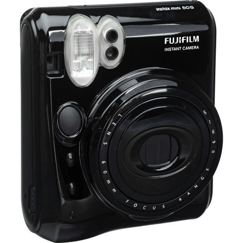 Fujifilm Instax Mini 50S Instant Camera (Piano Black) by Fujifilm at bandccamera