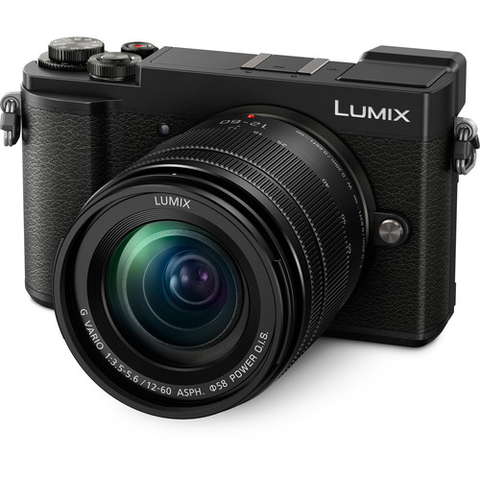 Panasonic Lumix DC-GX9 Mirrorless Micro Four Thirds Digital Camera with 12-60mm Lens (Black) by Panasonic at B&C Camera